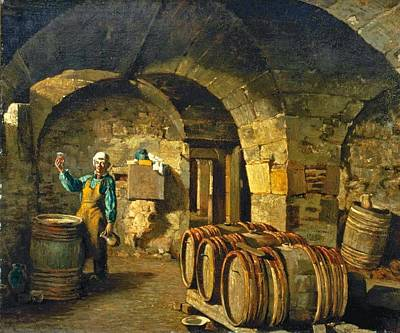 The Wine Taster Art Print