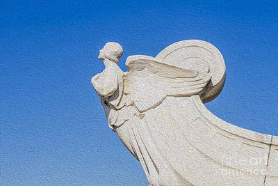 Democracy Digital Art - The Winged Figure Of Democracy  by Patricia Hofmeester