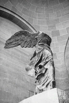 Nike Photograph - The Winged Victory by Patricia Hofmeester