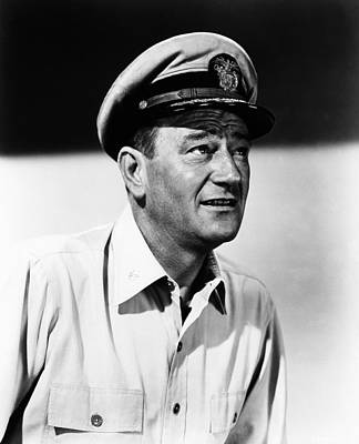 1957 Movies Photograph - The Wings Of Eagles, John Wayne, 1957 by Everett