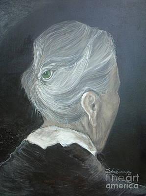 The Wisdom Eye  Art Print by Delona Seserman