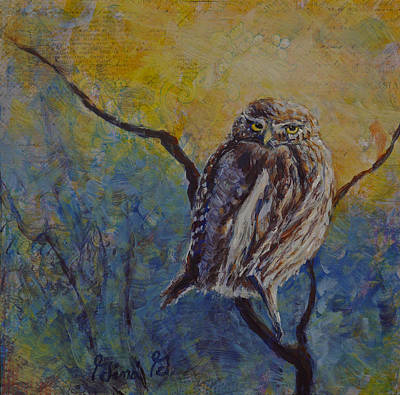 Painting - The Wise One by Gina Grundemann