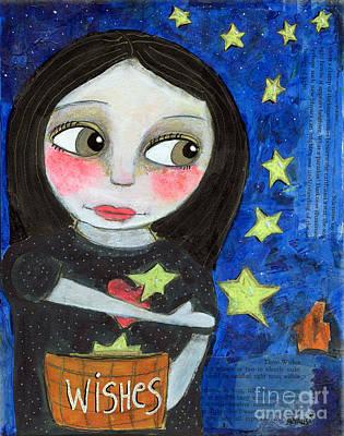 Painting - The Wish Catcher by AnaLisa Rutstein