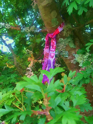 Photograph - The Wishing Tree by Kandy Hurley