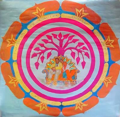 Art Of Vital Painting - The Wishing Tree Of Life Chakra  by Gaia Tamar Saday