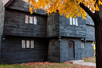 Photograph - The Witch House by Jeff Folger