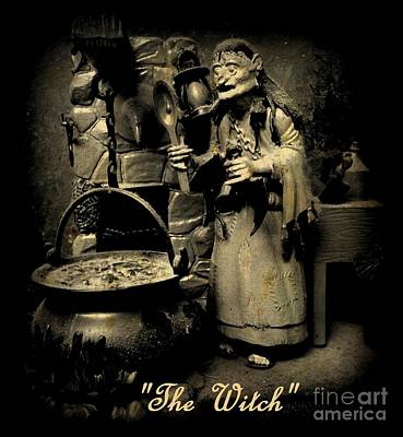 Art In Halifax Digital Art - The Witch by John Malone