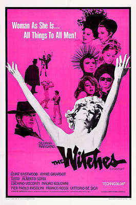 The Witches, Aka Le Streghe, Us Poster Art Print by Everett