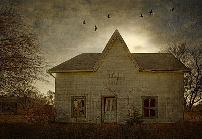 Photograph - The Witch's House by Nikolyn McDonald