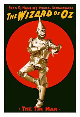 The Tin Man Photograph - The Wizard Of Oz by Mountain Dreams
