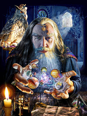Magical Photograph - The Wizards World by Adrian Chesterman
