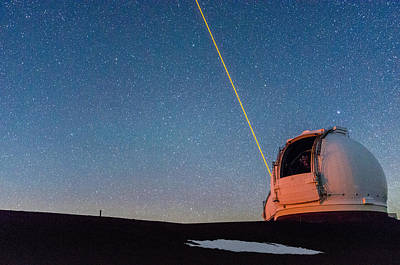 Photograph - The Wm Keck Observatory 2 by Jason Chu