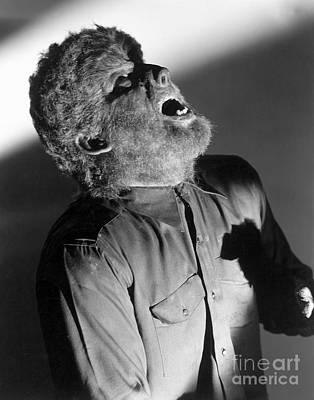The Wolf Man - Lon Chaney Jr Art Print by MMG Archives