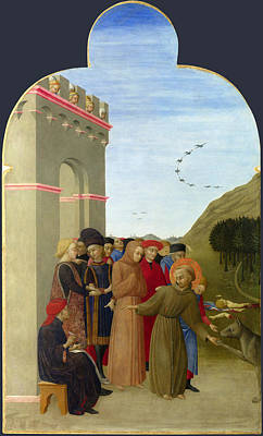 The Wolf Of Gubbio Art Print