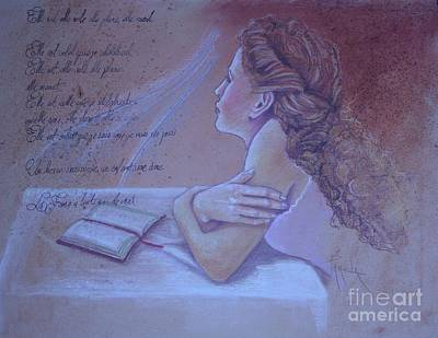 Pastel - The Woman In Me by Pamela Mccabe