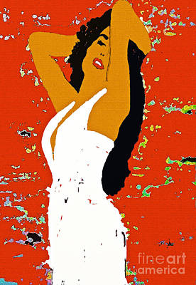 Painting - The Woman Who Loved To Dance by Saundra Myles
