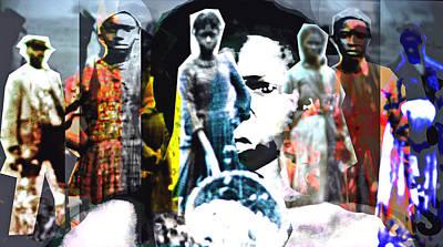 Segregation Digital Art - The Women Of Jimmy Crow by Keven Reynolds