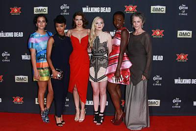 Danai Gurira Photograph - The Women Of The Walking Dead by David Acosta