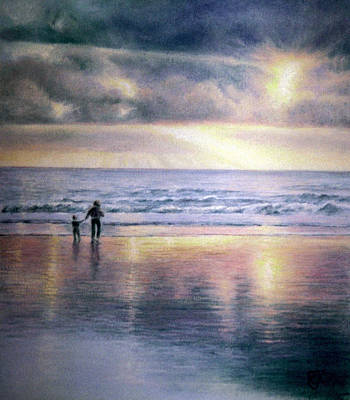 Painting - The Wonder Of Light by Rosemary Colyer