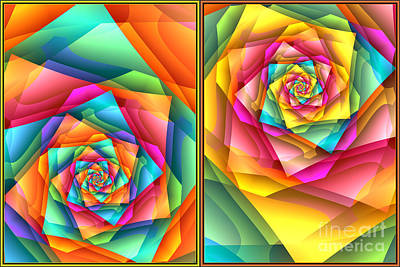 Digital Art - The Wonders Of Color by Jaclyn Hughes Fine Art