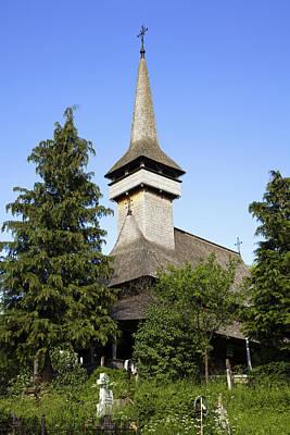 Eastern Orthodox Wall Art - Photograph - The Wooden Church (biserica De Lemn by Martin Zwick