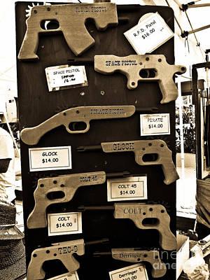 Blue Hues - The Wooden Gun Business by Fei A
