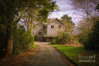 Photograph - The Wooden House by Kate Purdy