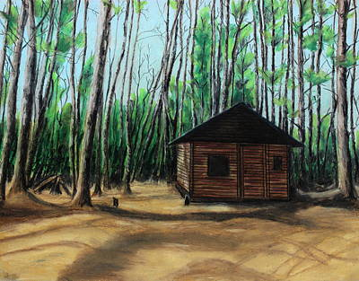 Painting - The Woodshed by Jeanne Fischer