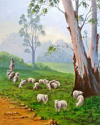 Painting - The Wool Road by Anne Gardner