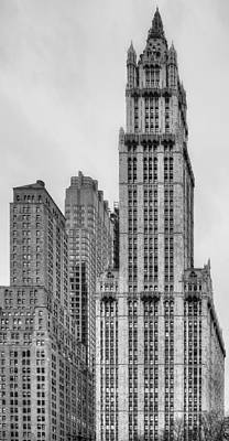 The Woolworth Downtown Art Print by JC Findley