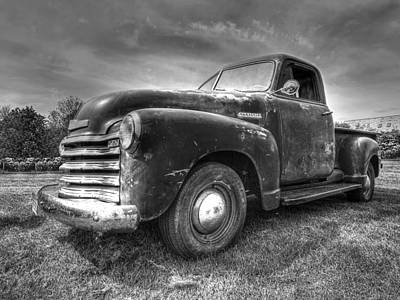 The Workhorse - 1953 Chevy Pickup Art Print by Gill Billington