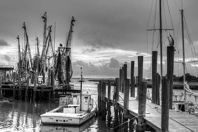 Photograph - The Working Boats by Walt  Baker