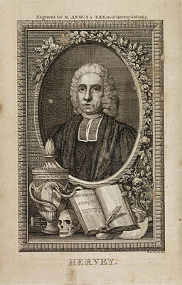 The Works Of The Late Reverend James Herv Art Print by British Library