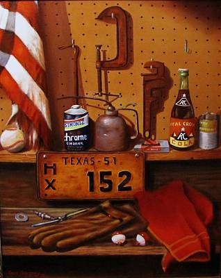Painting - The Workshop by Gene Gregory