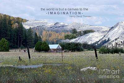 Photograph - The World Is A Canvas by Mary Lou Chmura