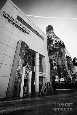 the world of coca-cola store on Las Vegas boulevard Nevada USA Art Print by Joe Fox