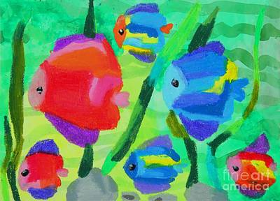 2011 The World Of  Fish Original by Danny S Y Lee