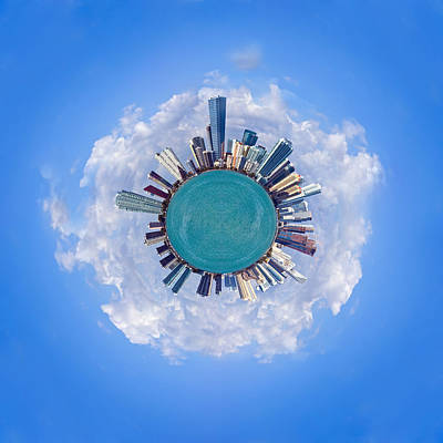 Art Print featuring the photograph The World Of Miami by Carsten Reisinger