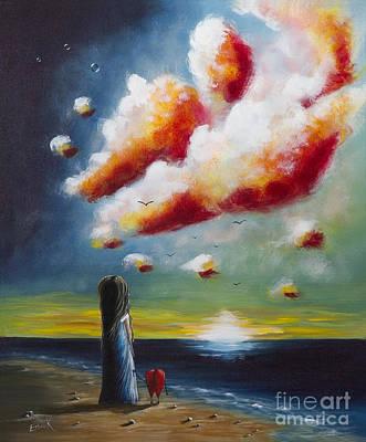 Beautiful Scenery Painting - The World Through Their Eyes By Shawna Erback by Shawna Erback