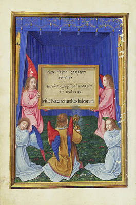 Tablet Painting - The Worship Of The Inscribed Tablet From The Cross Simon by Litz Collection