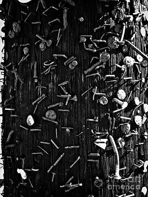 Photograph - The Wounded Telephone Pole No. 6 by Fei A