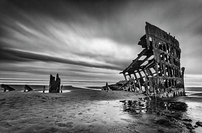 Shipwreck Wall Art - Photograph - The Wreck Of The Peter Iredale by Lydia Jacobs