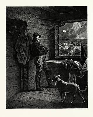 The Wreckers Christmas Art Print