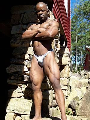 Stock Fitness Photograph - The Wrestler II by Jake Hartz