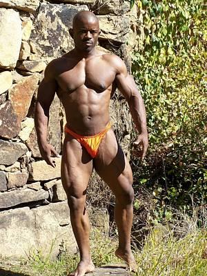 Stock Fitness Photograph - The Wrestler IIi by Jake Hartz