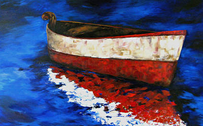 Painting - The Wright Boat by Torrie Smiley