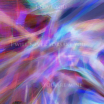 Digital Art - The Writing's On The Wall by Margie Chapman