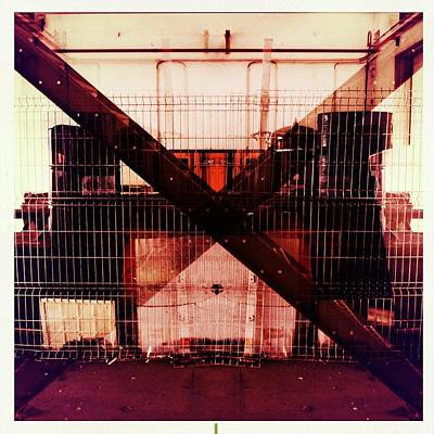 Photograph - The X by Marco Oliveira
