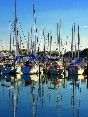 Photograph - The Yacht Club by Carolyn Bistline