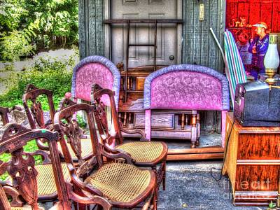 Mj Photograph - The Yard Sale by MJ Olsen